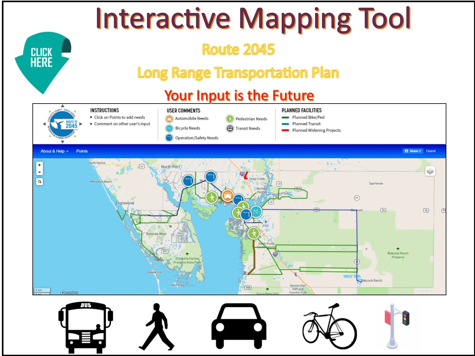 Interactive Mapping tool Link